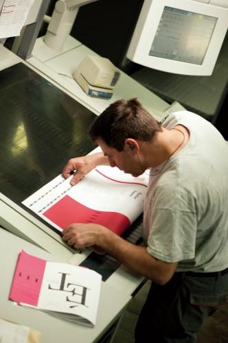 écrire le travail, initiales
