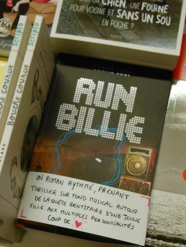 run billie,claire loup,scripto,gallimard,littérature ado,solène duroch,m'lie,laval