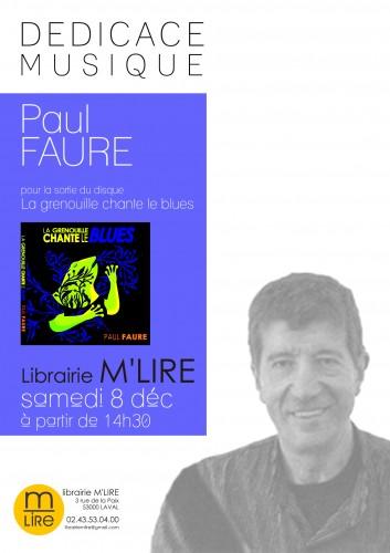 paul faure, cd, jazz, grenouille