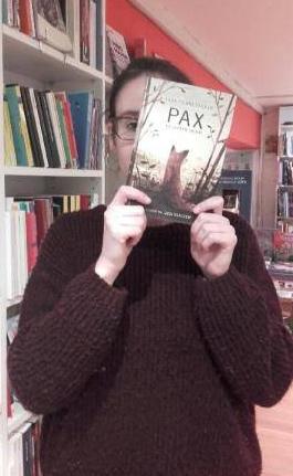 pax et le petit soldat,sara pennypacker,jon klassen,gallimard jeunesse,littérature jeunesse,solène duroch,librairie m'lire,laval