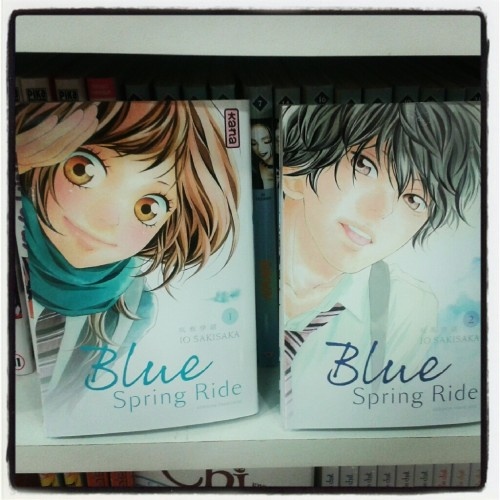 blue spring ride, io sakisaka, kana, manga, shojo, librairie m'lire, gwenn brault