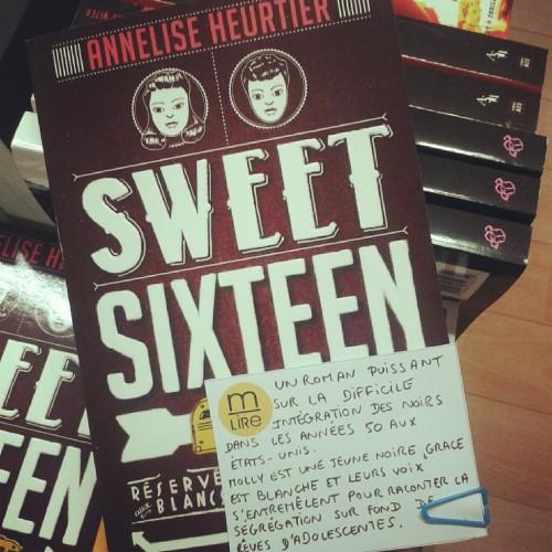 sweet sixteen, annelise heurtier, casterman, roman ado,