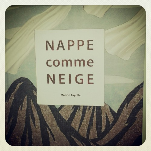 nappe comme neige,marion fayolle,notari,livre jeunesse,guillaume boutreux