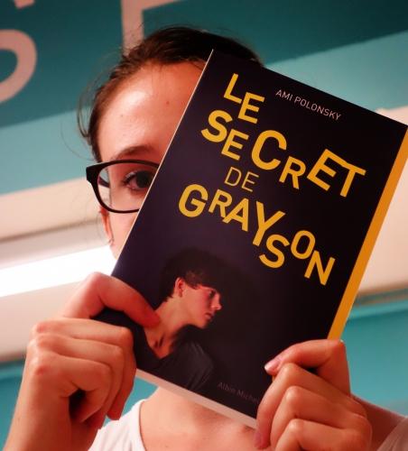 le secret de grayson,ami polonsky,albin michel jeunesse,litt',littérature ado,solène duroch,librairie m'lire,laval
