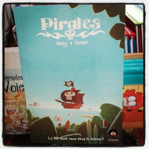 pirates,shuky,makaka,librairie m'lire,bd dont vous êtes le héros,guillaume boutreux
