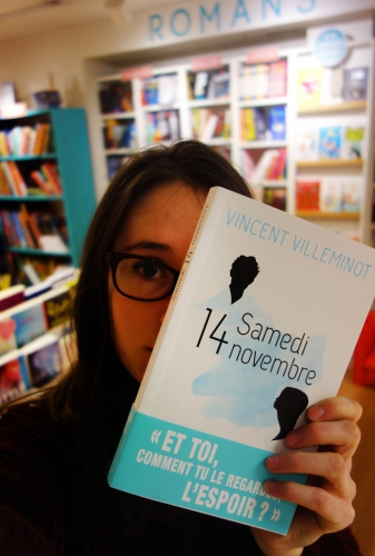 samedi 14 novembre,vincent villeminot,sarbacane,exprim,littérature ado,solène duroch,librairie mlire,laval
