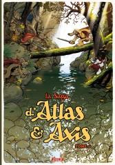 saga, atlas, axis, pau, ankama, bd, m'lire, librairie, simon, roguet