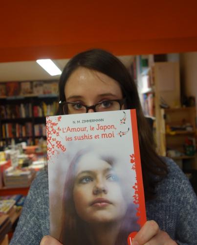 l'amour,le japon,les sushis et moi,naïma zimmermann,albin michel jeunesse,litt',littérature adolescente,solène duroch,librairie m'lire,laval